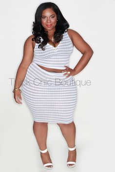 2-Piece Skirt Set | Thick Chic Boutique