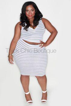2-Piece Skirt Set   Thick Chic Boutique