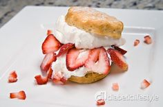 #Diabetes Game Day Recipe: Strawberry Shortcake by DiabeticLifestyle