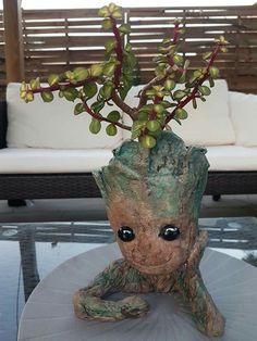 Baby Groot, Planter Pots, Plant Pots
