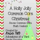 It's Christmas Time!  Time to Celebrate and Focus on Common Core! This pack includes Seven Differentiated Common Core Math Centers perfect for 2nd-...