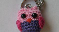 Owl keychain by Epsiej