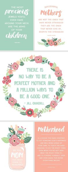 5 Inspirational Quotes for Mother's Day | via simpleasthatblog.com