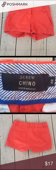 Orange J Crew Chinos 00 Golfing to brunch with Mom, These are so versitle! J. Crew Shorts
