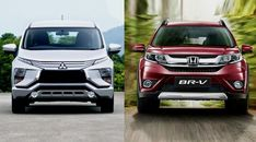 Comparing Mitsubishi Xpander vs Honda BR-V. which is better, Xpander or BR-V? what are the advantages of Xpander over Honda BR-V. Daihatsu Terios, Roof Rails, Honda S, Back Seat, Toyota, Two By Two, Engineering, Good Things, Technology