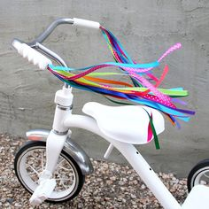 Streamers for your Bike, Trike, or Scooter Handlebars - Retro, Cool & Handmade - Kaleidoscope