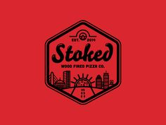 Stoked Rejected Logo Concept 2 by Scott Williams