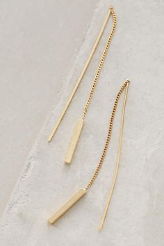 Threaded Amalur Earrings - anthropologie.com