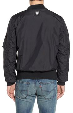 Check out the Alpha Industries 'Skymaster' Lightweight MA-1 Bomber Jacket from Nordstrom: http://shop.nordstrom.com/S/4222565