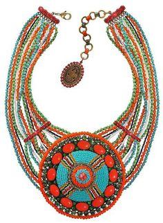 """Halskette Kollektion """"Glamour d'Afrique"""" von Konplott und Miranda Konstantinidou"""