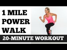 The 1-Mile Indoor Power Walking Workout | SparkPeople