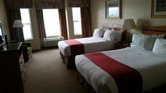 Our room, Holiday inn Hotel & Suites  |  7906 Main Street , Osoyoos, British Columbia V0H 1V0