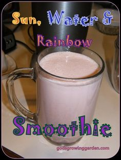 Water, Sun, Rainbow Smoothie by Angie Ouellette-Tower for godsgrowinggarden.com photo 004_zps9536329a.jpg