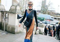 Candice Lake wearing an Altuzarra handbag  #London  #StreetStyle  #Koshchenets