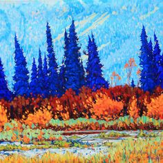 Dominik J Modlinski Artwork in Canada House Gallery Canada House, Red Roof, Artwork Display, Canadian Artists, Large Canvas, Aerial Photography, Landscape Paintings, Landscapes, Impressionism