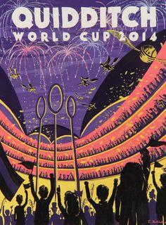 Quidditch World Cup 2014 by Caroline Hadilaksono #harrypotter