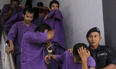 Malaysian girl, 15, 'gang raped by up to 38 men for several hours after being lured to abandoned hut used as drug haunt'