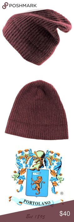 ⚜PORTOLANO⚜ Women s 100% Cashmere Winter Cap Imported ⚜ 100% Cashmere ⚜  Very warm in cold winter days and almost not having weight made of the  natural ... 63994d8013fb