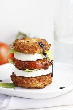 basil recipes, capres salad