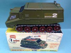 DINKY TOYS 353 SHADO 2 SPACE 1999 UFO DESTROYER MOBILE TANK BOXED RARE Retro Toys, Vintage Toys, Ufo Tv Series, Corgi Toys, Michael S, Space Toys, Top Toys, Kids Tv, Classic Toys