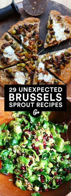 Brussels sprouts recipes—entrées, salads, and sides—that bring new flavor and flare to table. #Healthy #Vegetable #Recipes http://greatist.com/eat/healthy-brussels-sprouts-recipes