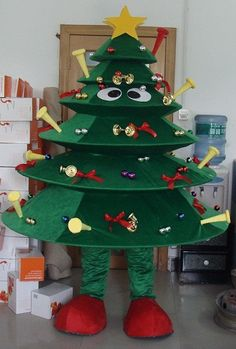 Adult christmas tree costume nol christmas tree costume solutioingenieria Gallery