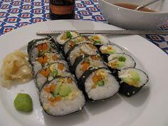 Veg Kimbap/Sushi rolls 9 by NoSoma, via Flickr