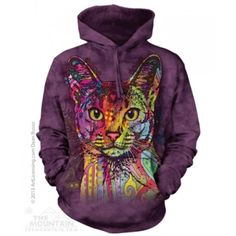 Chalk Rainbow Mens Hoodie Sweater Yizzam Allover Print