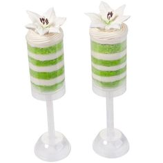 Easter Lilies & Layers Treat Pops #wilton