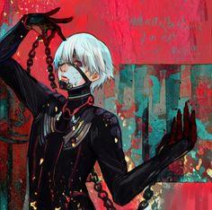 This is f*kin beautiful Kaneki Ken Tokyo Ghoul Anime Manga, Anime Guys, Anime Art, Manga Art, Ken Kaneki Tokyo Ghoul, Maou Sama, Naruto, Fanart, Juuzou Suzuya