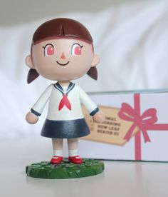 Animal Crossing New Leaf Custom Painted Figure by RezArmy on Etsy