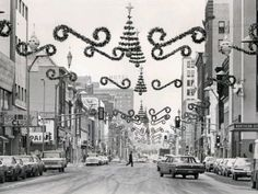 Duluth, MN. Wow does this give a flashback.  So remember decorations like this downtown.