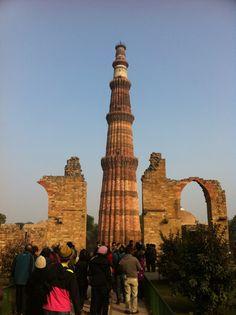 Qutub Minar in New Delhi, Delhi