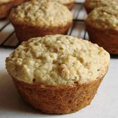 Banana and Oat Muffins @ http://allrecipes.com.au
