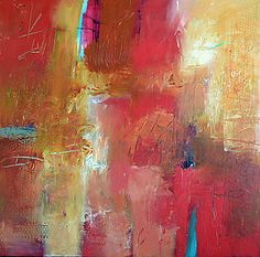 """Salsa by Filomena Booth (Acrylic Painting) (24"""" x 24"""")"""