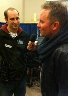 Chris Tomlin says a few words for 88.9 Shine FM