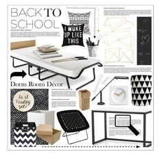 """""""Back to School: Dorm Room Décor"""" by hmb213 ❤ liked on Polyvore"""