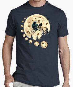 Monster Cookies by Fevart // Shop now: http://www.latostadora.com/web/monster_cookies/457721 #amazingtees #artclothes
