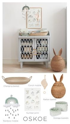 Shop our range of beautiful nursery peices to create your dream space. Nursery Neutral, Neutral Nurseries, Baby Furniture, Home And Family, Create Yourself, Cabinet, Storage, Simple, Bed