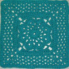 "DONE Ravelry: More V's Please - 12"" square pattern by Melinda Miller"