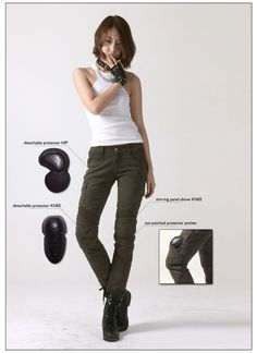 Cool women's pants for everyday riding (with Kevlar)