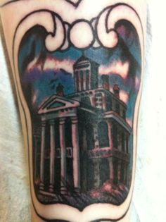 haunted mansion tattoo!