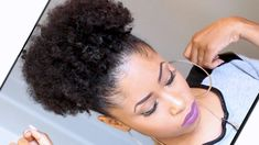 My Go-To Style For Those Nights When I'm Feeling Fancy  Read the article here - http://www.blackhairinformation.com/general-articles/hairstyles-general-articles/go-style-nights-im-feeling-fancy/