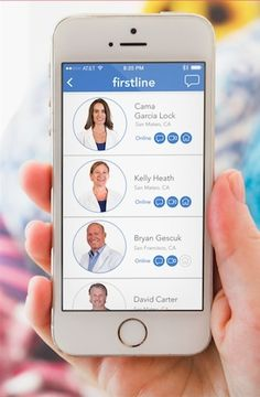 FirstLine's app will send a doctor in person if call, text, video isn't enough