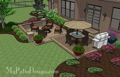Small Spaced Patio   Patio Designs and Ideas