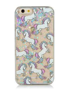 iPhone 6/6S Glitter Unicorn Case