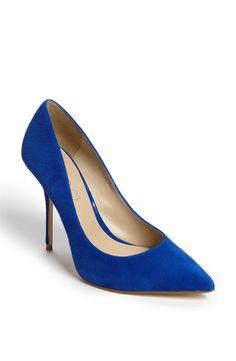 Nine West Handjive High Heels, Gray ($63) ❤ liked on Polyvore ...
