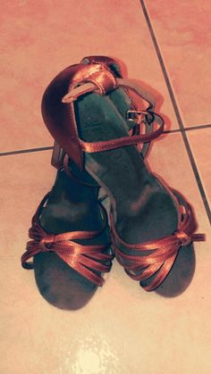 My first dance shoes