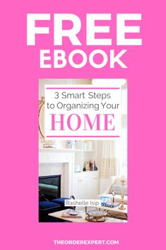 Your dream: an organized home. Your reality: a disorganized home. How are you going to get from Point A to Point B? My free guide 3 Smart Steps to Organizing Your Home, can help you in your travels! Click the link to get the guide >> Getting Organized At Home, Getting Rid Of Clutter, Small Bedroom Organization, Organization Hacks, Organizing Your Home, Organizing Tips, Small Bedroom Ideas For Women, Room Cleaning Tips, Housekeeping Tips
