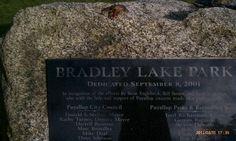 Our Bradley Lake Park adventure begins!